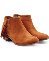 Sam Edelman - Suede Ankle Boots - Lyst