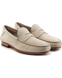 Tod's - Suede Loafers - Lyst