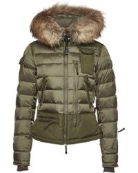 Parajumpers - Skimaster Down Jacket With Fur-trimmed Hood - Lyst