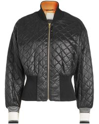 By Malene Birger - Banurama Quilted Bomber Jacket - Lyst