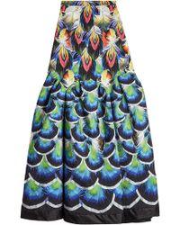 Mary Katrantzou - Parakeet Printed Skirt - Lyst
