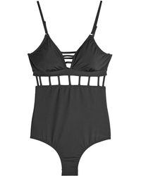 OndadeMar - Swimsuit With Cut-out Detail - Lyst