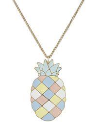 Paul & Joe - Pineapple Pendant Necklace - Lyst