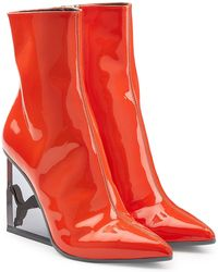 PUMA - Patent Leather Ankle Boots - Lyst