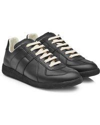 Maison Margiela - Leather Replica Trainers - Lyst