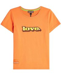 Marc Jacobs - Love Cotton T-shirt - Lyst