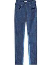 Public School - Jeansbluse im Two Tone Look - Lyst