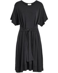 American Vintage - Draped Jersey Dress - Lyst