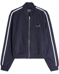 Markus Lupfer - Embellished Track Top With Zip Front - Lyst