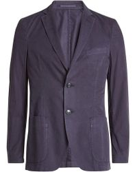 Officine Generale - Cotton Sports Jacket - Lyst