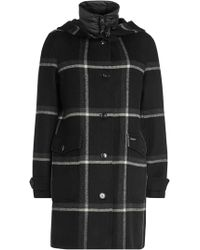 Woolrich - Marcy Wool Coat With Quilted Vest - Lyst