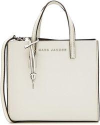 Marc Jacobs - Mini Grind Leather Tote - Lyst