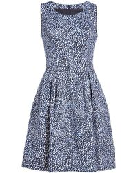 HUGO - Kombasa Printed Dress - Lyst
