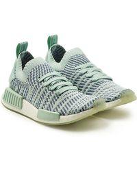 adidas Originals - Gewebte Sneakers NMD_R1 STLT Primeknit aus Mesh - Lyst