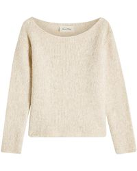 American Vintage - Pullover With Baby Alpaca And Cotton - Lyst