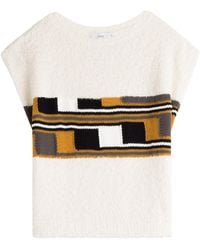 Closed - Knit Cotton Top - Lyst