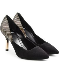 Pierre Hardy - Suede Court Shoes - Lyst