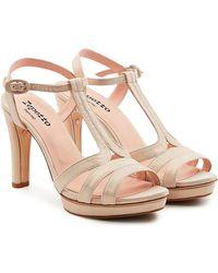 Repetto - Bikini Suede Sandals - Lyst