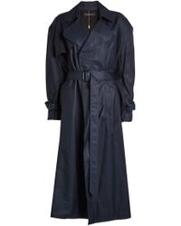 Ellery - Illustrated Woman Trench Coat - Lyst