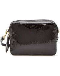 Anya Hindmarch - Stack Double Leather Wallet On Strap - Lyst