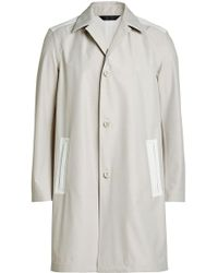 CALVIN KLEIN 205W39NYC - Coat With Wool - Lyst