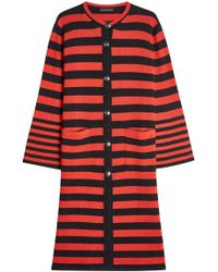 Etro - Striped Cardigan With Wool And Cashmere - Lyst