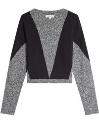 Public School - Pullover With Merino Wool And Cotton - Lyst