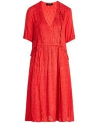 The Kooples - Embroidered Dress - Lyst