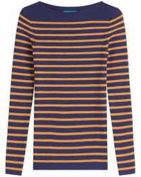 M.i.h Jeans - Striped Wool Pullover - Lyst