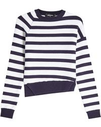 DSquared² - Striped Wool Pullover - Lyst
