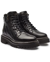 630ca5f514b Jessica Simpson. Luxella.  189. Sole Society · Balmain - Leather Ankle  Boots With Chain Embellishment - Lyst