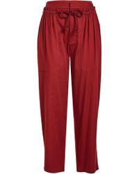See By Chloé - Rope Tie Jogger Pants - Lyst