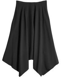 Nina Ricci | Midi Skirt With Handkerchief Hem | Lyst