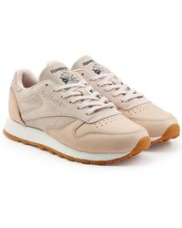 Reebok - Leather And Suede Trainers - Lyst