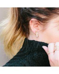 Kris Nations - Letter Earrings - Lyst