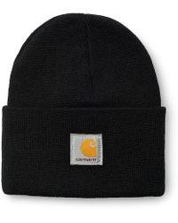 Carhartt Wip Logo Bi-colored Snapback Cap in Black for Men - Lyst 5c1e20c7a