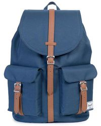 Herschel Supply Co. Canvas Dawson Backpack in Black for Men - Lyst 08e2d00ebb695