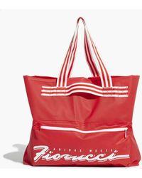 36a3dcbb8ab adidas Originals - Adidas Originals Fiorucci Stripe Tote Bag - Lyst