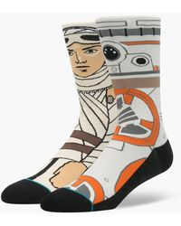 Stance - The Resi (tan) Men's Crew Cut Socks Shoes - Lyst
