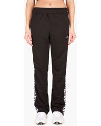 ece6283bd930 Fila All Over Print Popper Track Pants in Blue - Save 62% - Lyst