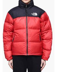The North Face - Red 1996 Retro Nuptse Down Jacket - Lyst