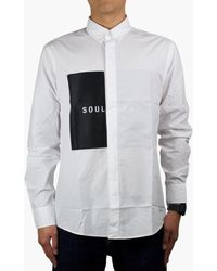 Soulland - Neatherall Button Down Shirt - Lyst