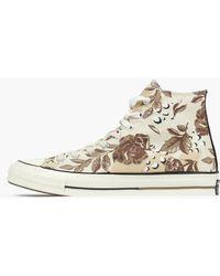 Converse - Chuck Taylor Hi Qs 70' Floral Camo - Lyst