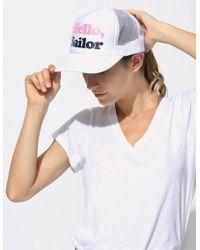 Sundry - Hello Sailor Trucker Hat - Lyst