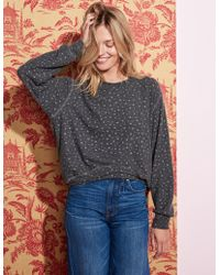 Sundry - Stars Hi Low Sweater - Lyst