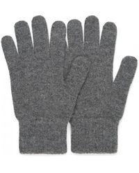 Sunspel - Women's Cashmere Gloves In Charcoal Melange - Lyst