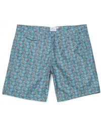 Sunspel - Men's Mid-length Printed Swimshorts In Liberty Print - Lyst