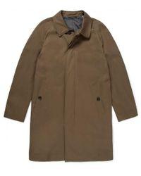 Sunspel - Men's Cotton Twill Mac In Khaki Brown - Lyst
