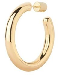 Maria Black - Ruby 35 Hoop Earring High Polished Gold 1 X Piece - Lyst