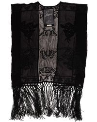 ca164d726e5fdc Superdry - Vintage Folk Stitch Kimono Top - Lyst